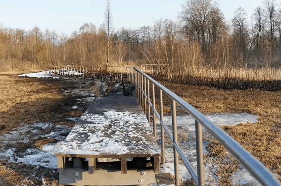Spende Wiederaufbau Zarrentiner Moorsteg